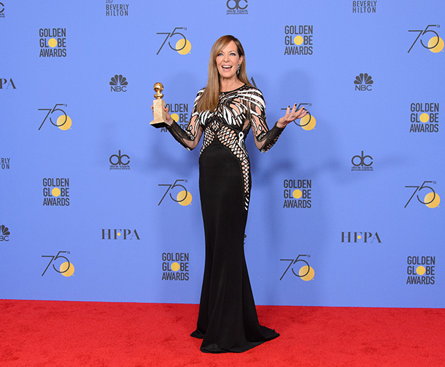 75th Golden Globe Awards: Allison Janney awarded Best Supporting Actress for I,Tonya
