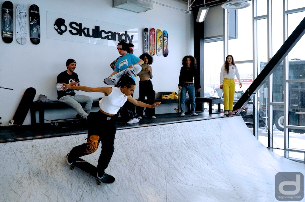 Skullcandy x Skate Kitchen - Sundance Skate Jam | Photo by Cindy Maram