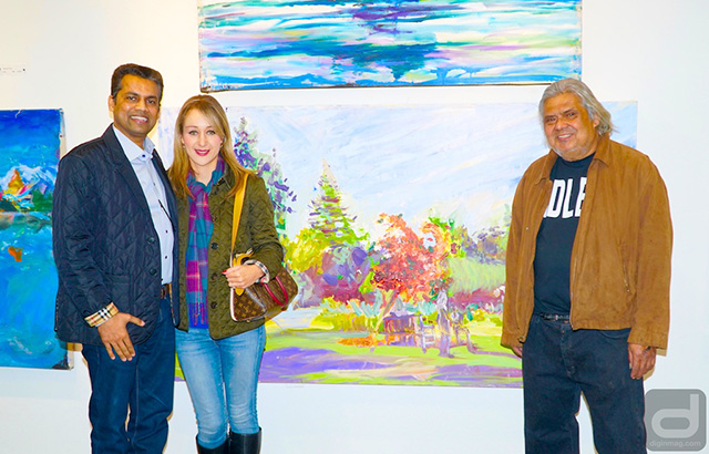Artist Al Preciado exhibiting at Retrospective, Recollection, Reflections | Citadel Gallery | Photo by Cindy Maram, Dig In Magazine