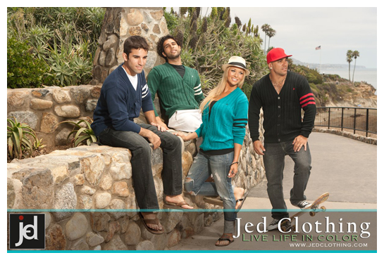 Clothes made by JED Clothing